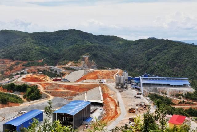 梅州(五华)抽水蓄能电站项目建设现场 南方日报记者石磊摄影