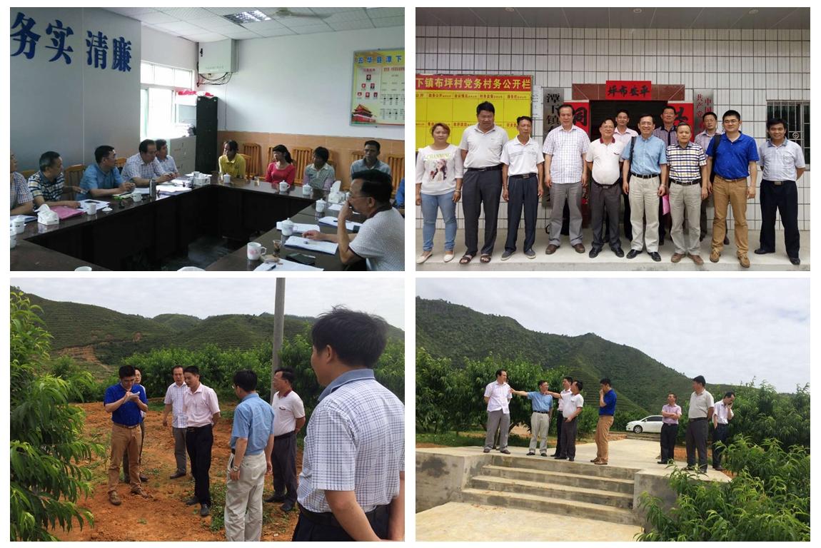 中国动物疫病预防控制中心张弘一行到潭下镇